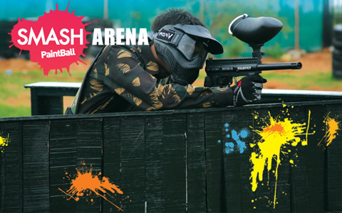 Paintball Smash Arena